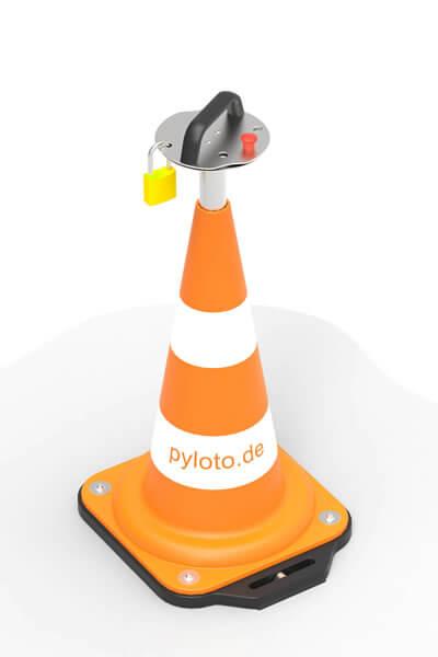 Pyloto Bedienung zur Sicherung von autonomen Transportfahrzeugen